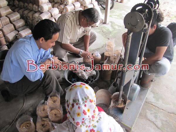 Praktik pelubangan dan Pemasangan cincin