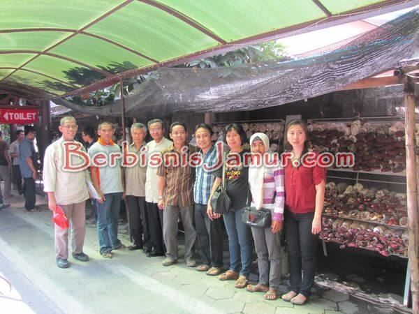 peserta pelatihan jamur