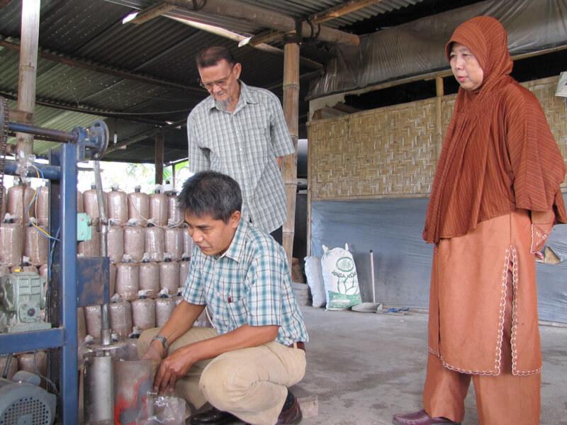 pelatihan jamur Lantabura Media