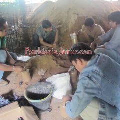 Praktik Pembuatan Baglog Jamur
