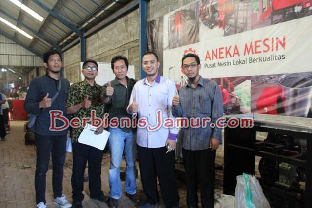 Kunjungan ke AnekaMesin.com